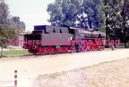 Offenburg Eisenbahn - Ausbesserungswerk - Lok Nr. 18 323 - Bild 2