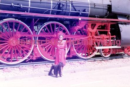 Offenburg Eisenbahn - Ausbesserungswerk - Lok Nr. 18 323 - Bild 3