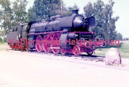 Offenburg Eisenbahn - Ausbesserungswerk - Lok Nr. 18 323 - Bild 6