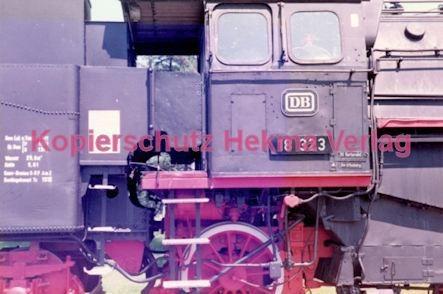 Offenburg Eisenbahn - Ausbesserungswerk - Lok Nr. 18 323 - Bild 9