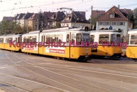 Stuttgart Straßenbahn - mehrere Wagen