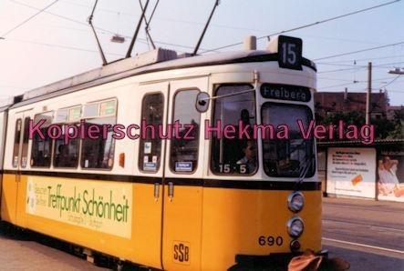 Stuttgart Straßenbahn - Wagen Nr. 690