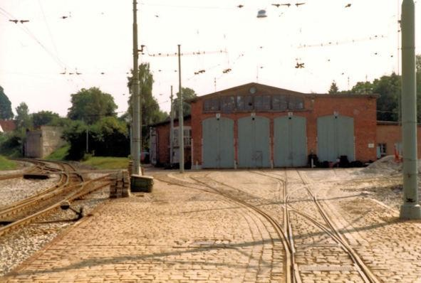 Stuttgart Straßenbahn - Stuttgart Möhringen - Depot