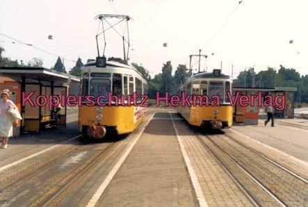 Stuttgart Straßenbahn - Stuttgart Möhringen - Linie 3 Wagen Nr. 716 und Linie 6 Wagen Nr. 519