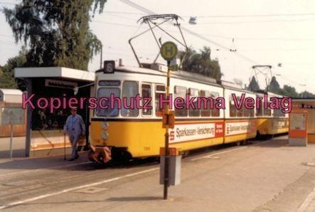 Stuttgart Straßenbahn - Stuttgart Möhringen - Linie 6 Wagen Nr. 709