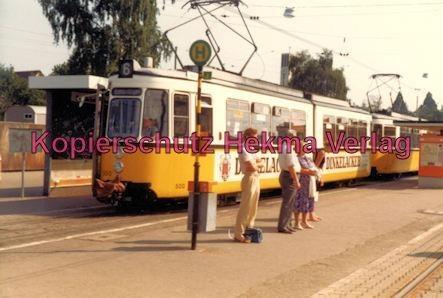 Stuttgart Straßenbahn - Stuttgart Möhringen - Linie 6 Wagen Nr. 500