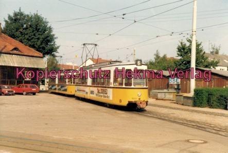 Stuttgart Straßenbahn - Stuttgart Möhringen - Linie 6 Wagen Nr. 600