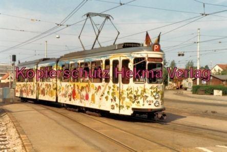 Stuttgart Straßenbahn - Stuttgart Möhringen - Party-Wagen Nr. 999 - Bild 1