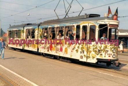 Stuttgart Straßenbahn - Stuttgart Möhringen - Party-Wagen Nr. 999 - Bild 2