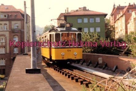 Stuttgart Zahnradbahn - Marienplatz-Degerloch - Linie 10 Wagen Nr. 104 - Bild 3