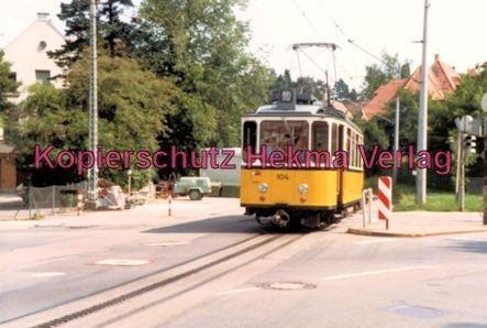 Stuttgart Zahnradbahn - Marienplatz-Degerloch - Linie 10 Wagen Nr. 104 - Bild 4