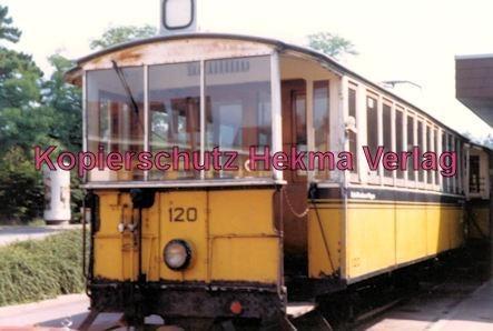 Stuttgart Zahnradbahn - Marienplatz-Degerloch - Bahnhof Degerloch - Linie 10 Wagen Nr. 104 - Bild 2