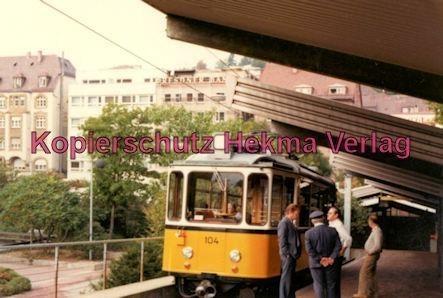 Stuttgart Zahnradbahn - Marienplatz-Degerloch - Bahnhof Degerloch - Linie 10 Wagen Nr. 104 - Bild 3