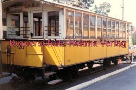 Stuttgart Zahnradbahn - Marienplatz-Degerloch - Bahnhof Degerloch - Linie 10 Wagen Nr. 120