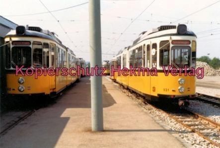 Stuttgart Straßenbahn - Depot Degerloch - Sonderwagen Nr. 931