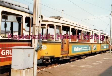 Stuttgart Straßenbahn - Depot Degerloch - Wagen - Bild 1