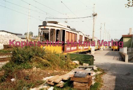 Stuttgart Straßenbahn - Depot Degerloch - Wagen - Bild 2