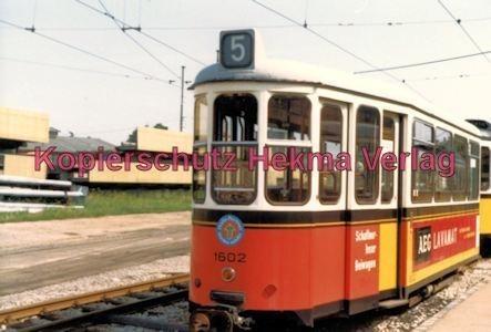 Stuttgart Straßenbahn - Depot Degerloch - Wagen Nr. 1602 - Bild 1