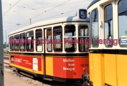 Stuttgart Straßenbahn - Depot Degerloch - Wagen Nr. 1602 - Bild 2