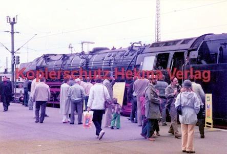 Stuttgart Eisenbahn - BDEF e.V. Tagung in Stuttgart - Stuttgart Hbf. - Lok Nr. 01 1066 - Bild 2