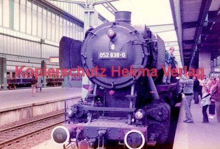 Stuttgart Eisenbahn - BDEF e.V. Tagung in Stuttgart - Stuttgart Hbf. - Lok Nr. 052 838-0
