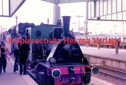 """Stuttgart Eisenbahn - BDEF e.V. Tagung in Stuttgart - Stuttgart Hbf. - Lok """"Margaretchen"""" - Bild 1"""