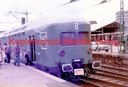 Stuttgart Eisenbahn - BDEF e.V. Tagung in Stuttgart - Stuttgart Hbf. - Lübeck-Büchener-Eisenbahn - Doppelstockwagen Nr. 8 - Bild 2