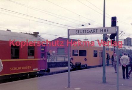 Stuttgart Eisenbahn - BDEF e.V. Tagung in Stuttgart - Stuttgart Hbf. - Schlafwagen