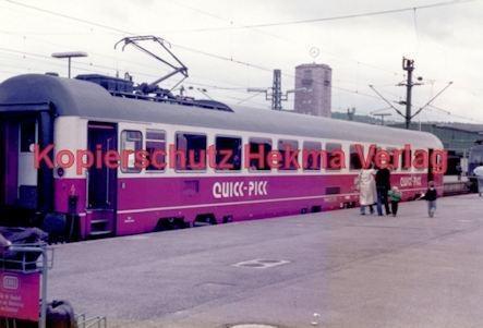Stuttgart Eisenbahn - BDEF e.V. Tagung in Stuttgart - Stuttgart Hbf. - Quick-Pick - Bild 2