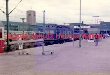 Stuttgart Eisenbahn - BDEF e.V. Tagung in Stuttgart - Stuttgart Hbf. - E-Lok Nr. 118 047-0