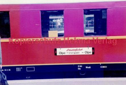 Stuttgart Eisenbahn - BDEF e.V. Tagung in Stuttgart - Stuttgart Hbf. - Sonderfahrt Olpe-Stuttgart-Olpe