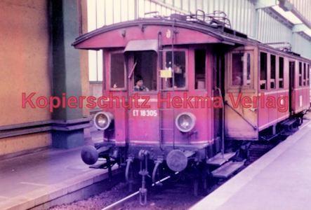 Stuttgart Eisenbahn - BDEF e.V. Tagung in Stuttgart - Stuttgart Hbf. - ET 18 305 - Bild 1