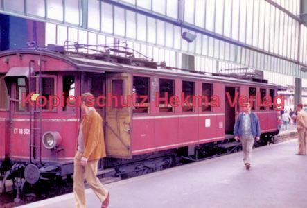 Stuttgart Eisenbahn - BDEF e.V. Tagung in Stuttgart - Stuttgart Hbf. - ET 18 305 - Bild 2