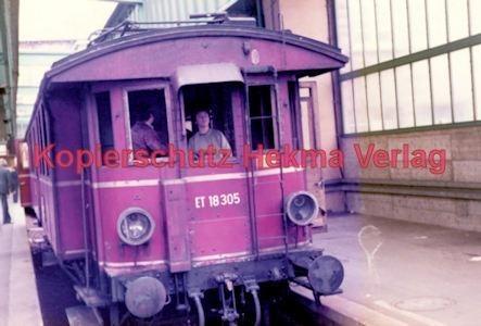Stuttgart Eisenbahn - BDEF e.V. Tagung in Stuttgart - Stuttgart Hbf. - ET 18 305 - Bild 4