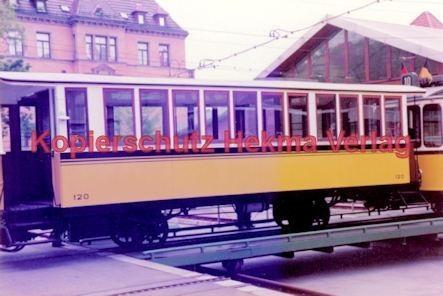 Stuttgart Straßenbahn - BDEF e.V. Tagung in Stuttgart - Zahnradbahn - Depot - Wagen Nr. 120