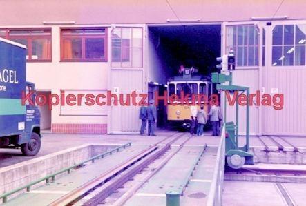 Stuttgart Straßenbahn - BDEF e.V. Tagung in Stuttgart - Zahnradbahn - Depot - Wagen Nr. 104 - Bild 3