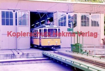 Stuttgart Straßenbahn - BDEF e.V. Tagung in Stuttgart - Zahnradbahn - Depot - Wagen Nr. 104 - Bild 4