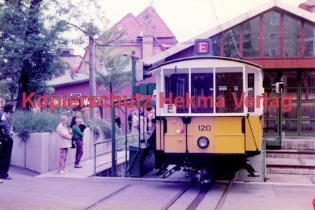 Stuttgart Straßenbahn - BDEF e.V. Tagung in Stuttgart - Zahnradbahn - Wagen Nr. 120 - Bild 2