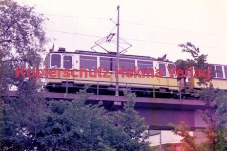 Stuttgart Straßenbahn - BDEF e.V. Tagung in Stuttgart - Zahnradbahn - Wagen auf einer Brücke