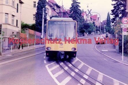 Stuttgart Straßenbahn - BDEF e.V. Tagung in Stuttgart - Zahnradbahn - SSB - Linie 10 Wagen Nr. 1001 - Bild 1