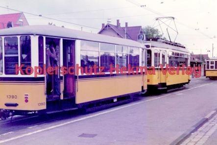 Stuttgart Straßenbahn - BDEF e.V. Tagung in Stuttgart - Museumswagen Nr. 851 und Nr. 1390 - Bild 1