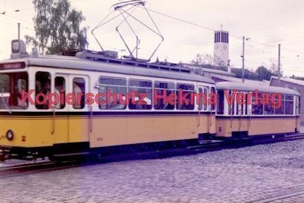Stuttgart Straßenbahn - BDEF e.V. Tagung in Stuttgart - Museumswagen Nr. 851 und Nr. 1390 - Bild 2