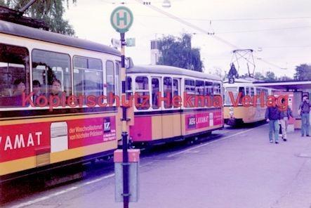 Stuttgart Straßenbahn - BDEF e.V. Tagung in Stuttgart - Zweiwagenzug - Bild 2