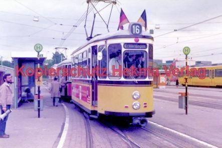 Stuttgart Straßenbahn - BDEF e.V. Tagung in Stuttgart - Linie 16 Wagen