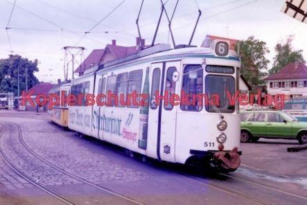 Stuttgart Straßenbahn - BDEF e.V. Tagung in Stuttgart - Linie 6 Wagen Nr. 511 - Bild 1