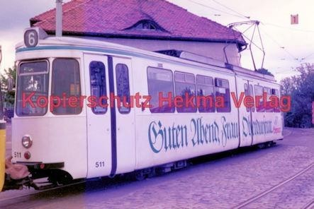 Stuttgart Straßenbahn - BDEF e.V. Tagung in Stuttgart - Linie 6 Wagen Nr. 511 - Bild 2