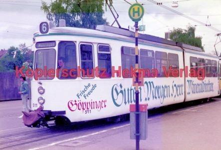 Stuttgart Straßenbahn - BDEF e.V. Tagung in Stuttgart - Linie 6 Wagen Nr. 511 - Bild 3