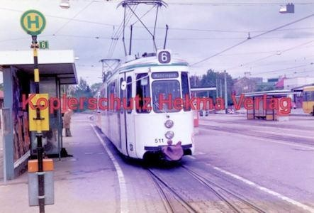 Stuttgart Straßenbahn - BDEF e.V. Tagung in Stuttgart - Linie 6 Wagen Nr. 511 - Bild 4