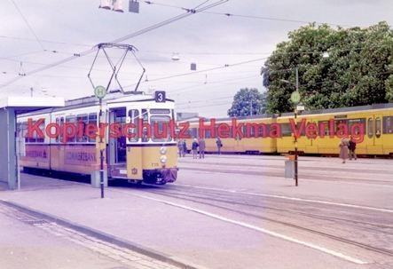 Stuttgart Straßenbahn - BDEF e.V. Tagung in Stuttgart - Linie 3 Wagen Nr. 715