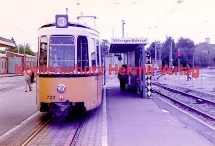 Stuttgart Straßenbahn - BDEF e.V. Tagung in Stuttgart - Linie 3 Wagen Nr. 722